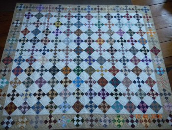 9 Patch on Point by Towerhouse Quilts