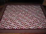 Antiqued Red Quilt by Towerhouse Quilts