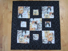 Kitty Quilt by Lisa Bee-Wilson