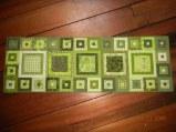 Modern Green Tablerunner - Sold