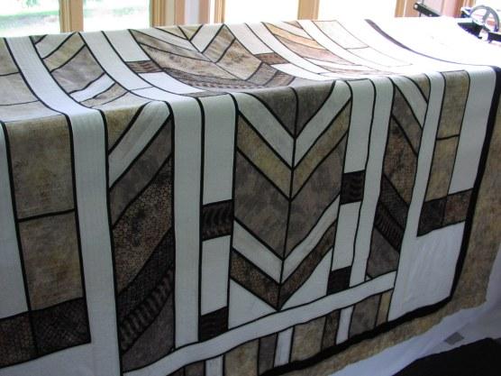 Frank Lloyd Wright Inspired Quilt