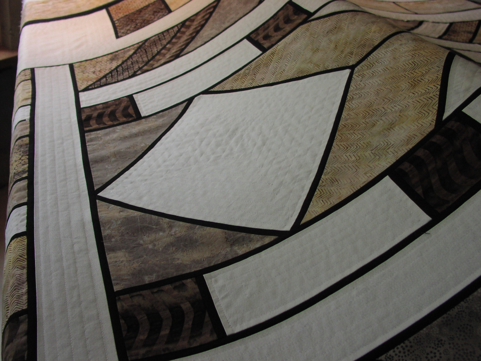 Frank Lloyd Wright Inspired Quilt Towerhouse Quilts