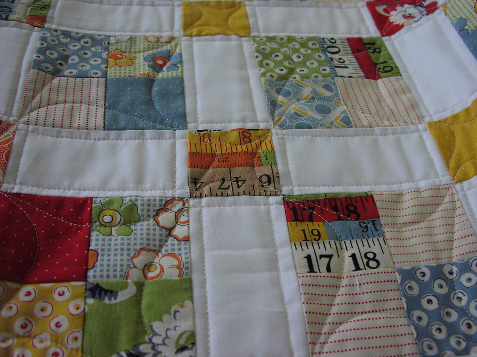 how to make a quilt look old