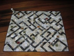 Lisa Bee-Wilson Black & White Modern Quilt