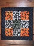 Halloween Kitty Quilt - Sold