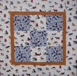 Small Dog Quilt - Sold