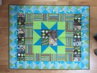 New York Minute Quilt quilted by Lisa BeeWilson