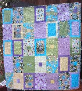 Tranquil Forest Quilt by Lisa Bee-Wilson