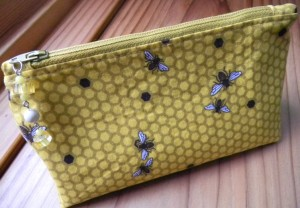 2010 Christmas Stocking Present - bee bag