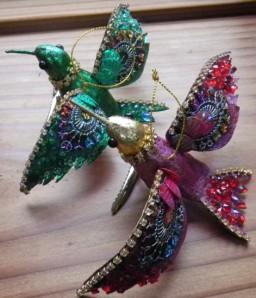 2010 Stocking Presents - birds