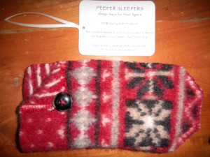 Peeper Sleepers - Holiday Red