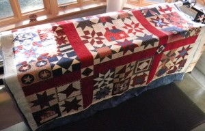 Blackberry Jam Raffle Quilt 2011