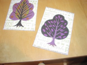 Tree Postcards