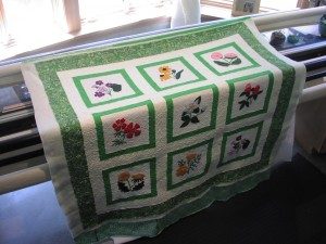 Joyce's Applique Quilt