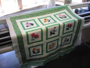 Joyce's Applique Quilt