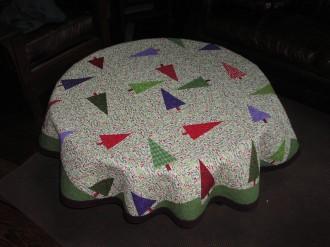 Tree Farm Inspired Tablecloth