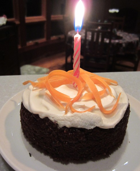 Birthday cake for my puppy!