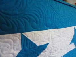 Strand Elementary Auction Quilt done by Joyce Weaver 2012