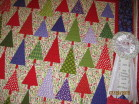 Christmas Tree Wall Hanging 3rd place