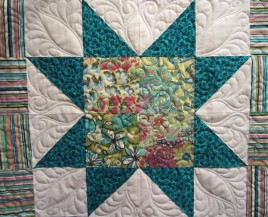 301 Marlene K's New York Minute quilted by Lisa Bee-Wilson