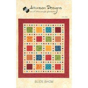 ideshow Quilt Pattern by Atkinson Designs