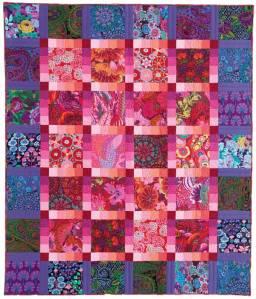 Garden Gradation Quilt by Lisa Bee-Wilson in McCall's Quilting Magazine