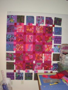Garden Gradation Quilt by Lisa Bee-Wilson featured in McCalls Quilting