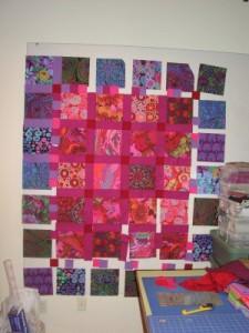 Garden Gradation Quilt by Lisa Bee-Wilson featured in McCalls Quilting