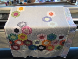 Piece by Piece Quilt quilted by Lisa Bee-Wilson