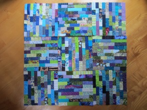 Lego Quilt by Lisa Bee-Wilson at Towerhouse Quilts