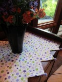 Barber Pole Table Runner 016