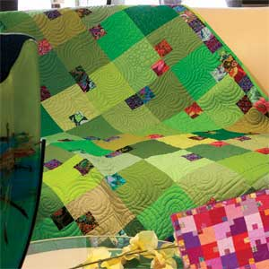 Mint Julep Quilt by Towerhouse Quilts in McCall's Quilting Magazine Sept/Oct 2013 Issue