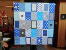 Tranquil Forest Baby Quilt (3)