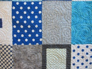 Tranquil Forest Baby Quilt (4)