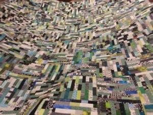 2014 raffle quilt making