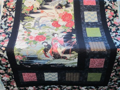 Bonne B quilted by Towerhouse Quilts