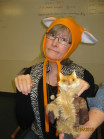 What did the fox say? hat