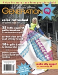 Generation Q Magazine with City View Quilt