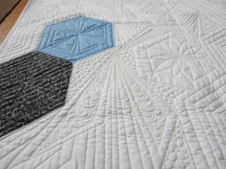 Custom quilting by Susan Minor