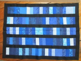 Quilt made by Wanda