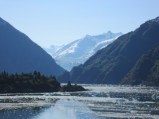 Tracy Arm - Glacier in next valley
