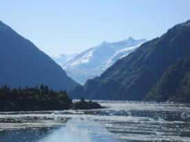 Tracy Arm - Glacier in next valley