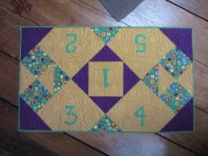 Birthday Memory Table Runner