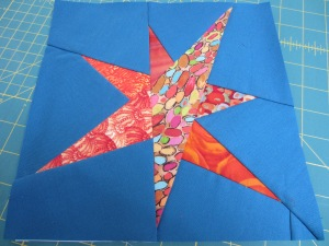 Star Block for Challenge 001