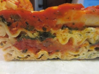 Lasagna Using Dried Veggies (1)