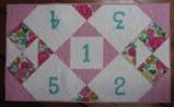 Baby Tablerunner Pink