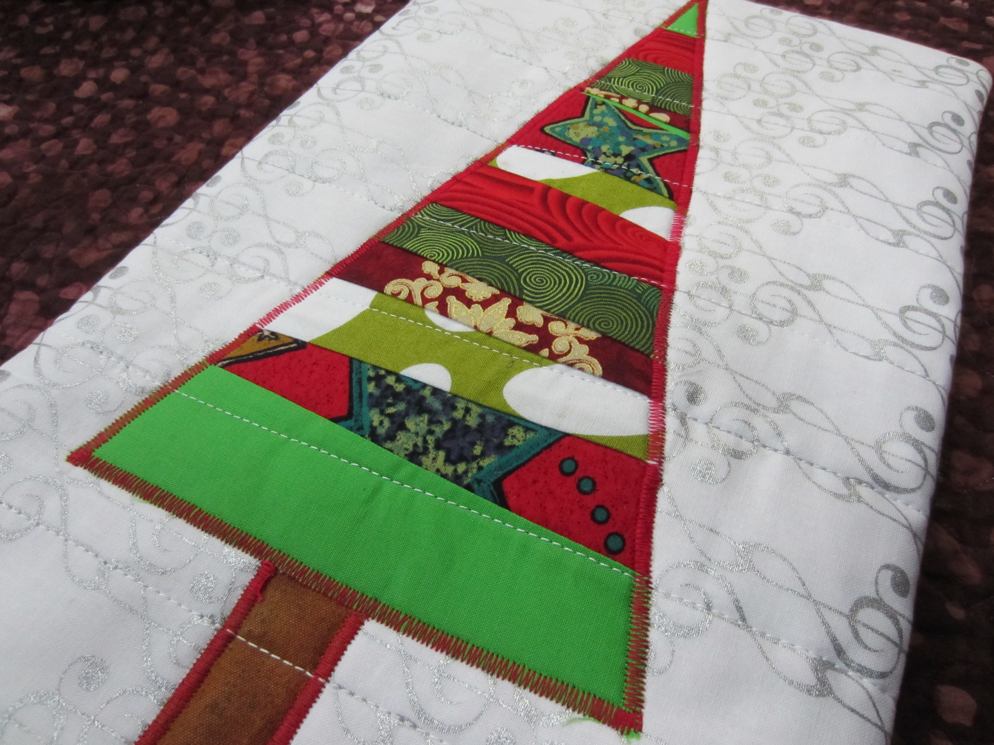 Free Holiday Hot Pad Pattern Towerhouse Quilts