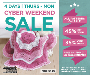 Leisure Arts Cyber Monday Sale