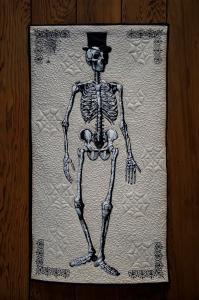 Halloween Skeleton Quilt