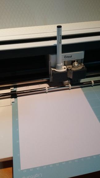 cricut maker at work